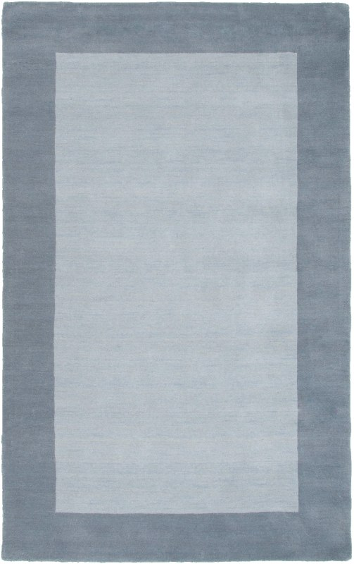 Rizzy Home PL2849 Platoon Hand Loomed New Zealand Wool Rug Light Blue
