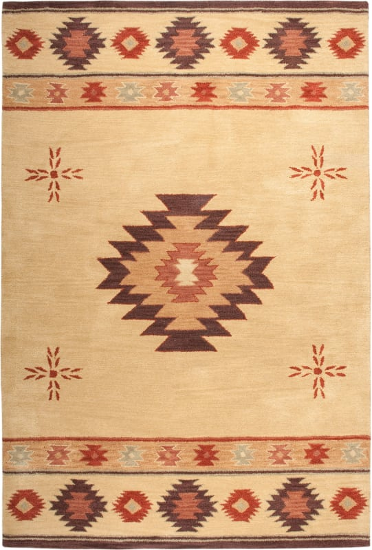 Rizzy Home SU2007 Southwest Hand-Tufted Wool Rug Beige 3 x 5 Home Sale $129.00 ITEM: bci2616999 ID#:SOWSU200700040305 UPC: 844353229073 :