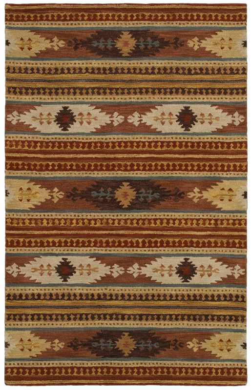 Rizzy Home SU8156 Southwest Hand-Tufted Wool Rug Rust 2 x 3 Home Decor Sale $49.00 ITEM: bci2618903 ID#:SOWSU815600750203 UPC: 844353841398 :