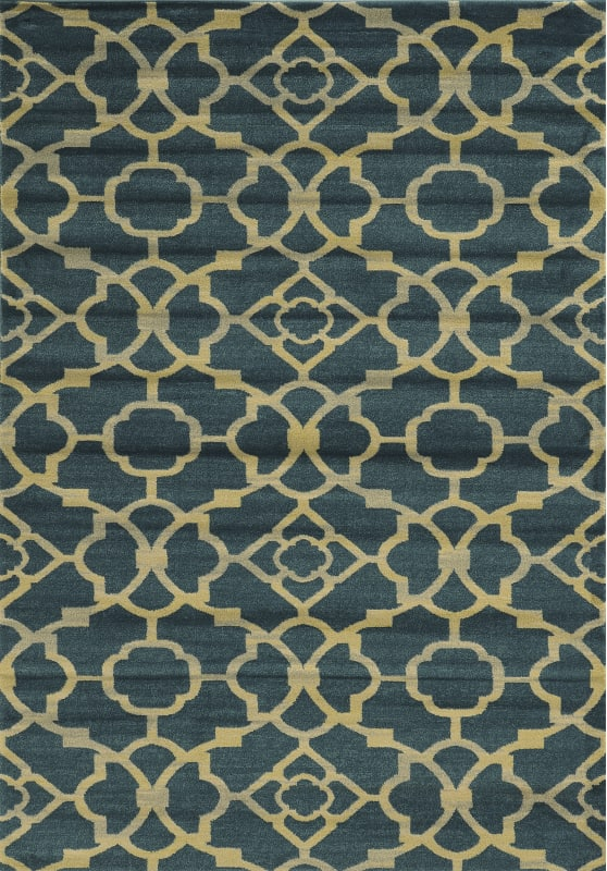 Rizzy Home SO4284 Sorrento Power Loomed Polypropylene Rug Blue 5 1/4 Sale $230.00 ITEM: bci2616923 ID#:SRTSO428400095377 UPC: 844353854343 :