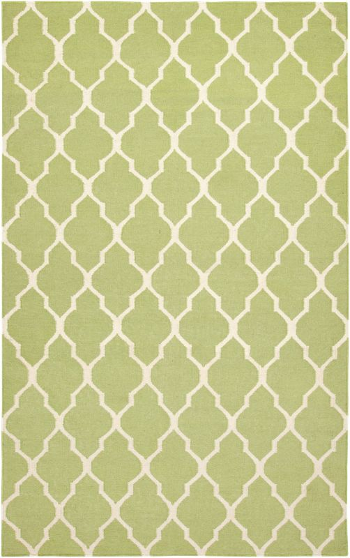 Rizzy Home SG2100 Swing Hand Woven New Zealand Wool Rug Light Green 2