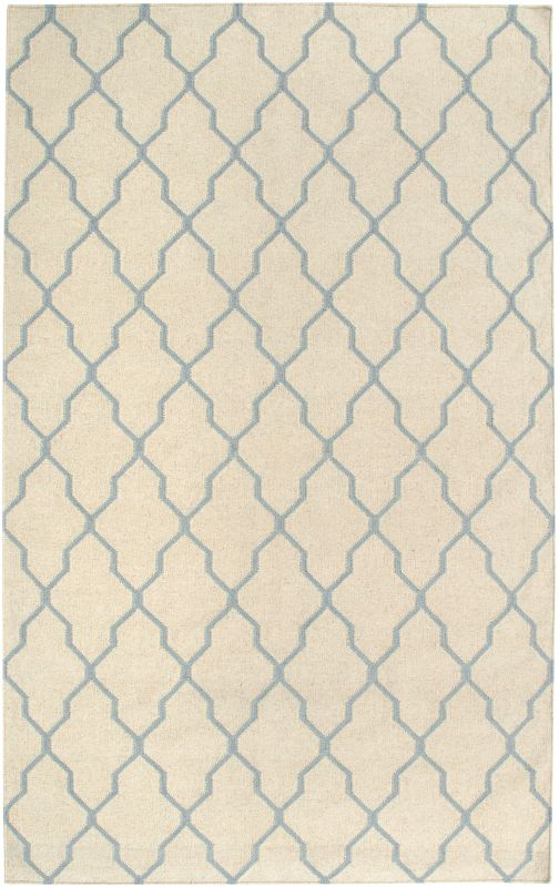 Rizzy Home SG2963 Swing Hand Woven New Zealand Wool Rug Beige / Light