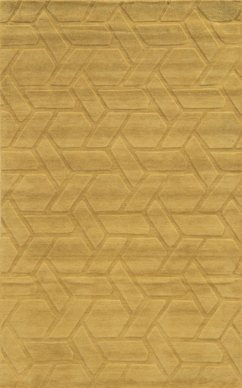 Rizzy Home TC8286 Technique Hand Loomed Wool Rug Beige 5 x 8 Home
