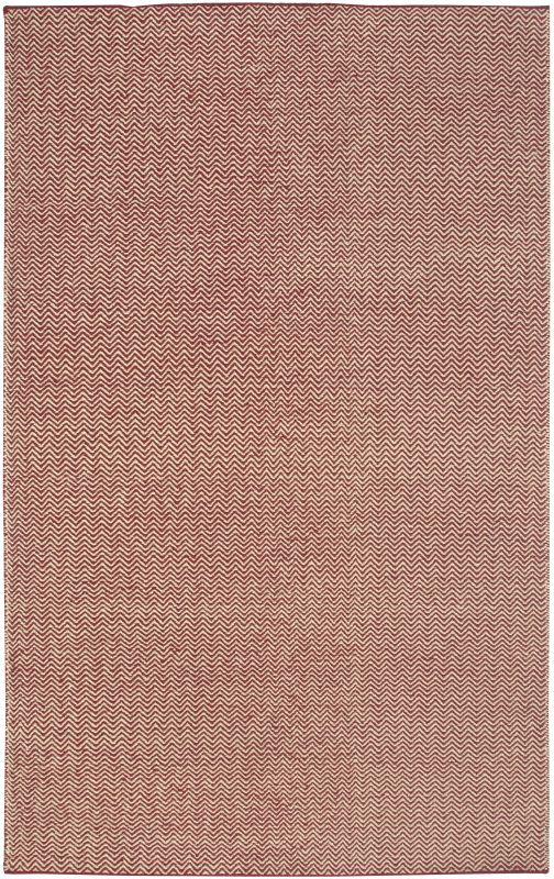 Rizzy Home TW2967 Twist Hand Woven New Zealand Wool Rug Burgundy 2 x 3