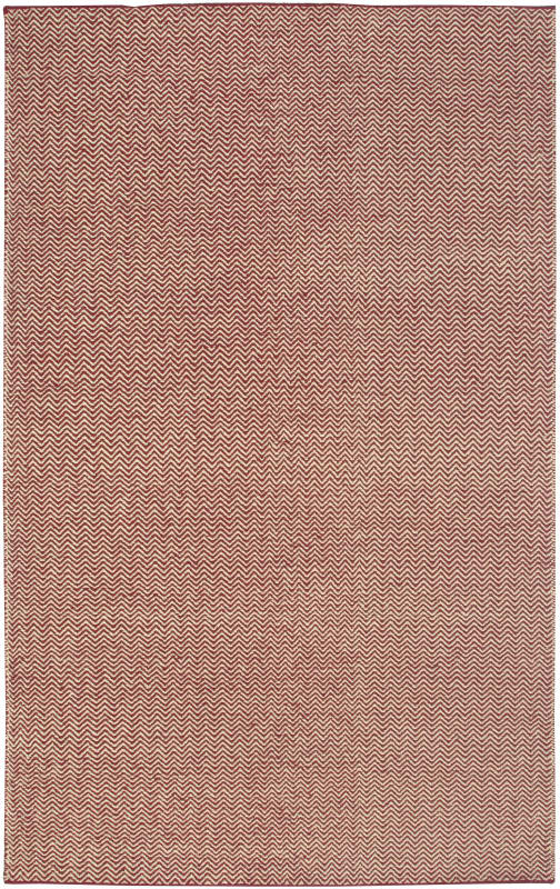 Rizzy Home TW2967 Twist Hand Woven New Zealand Wool Rug Burgundy 8 x