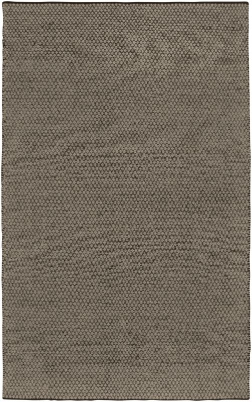 Rizzy Home TW3097 Twist Hand Woven New Zealand Wool Rug Brown / Tan 3