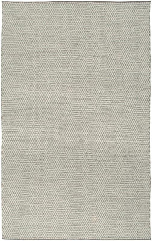 Rizzy Home TW3101 Twist Hand Woven New Zealand Wool Rug Cream / Gray 5