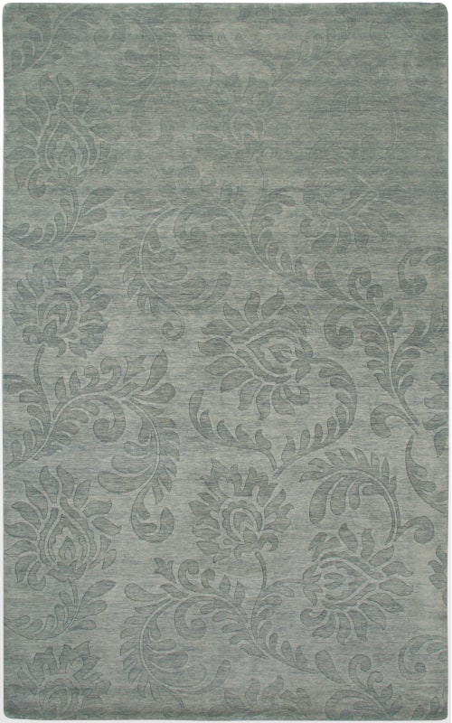 Rizzy Home UP2410 Uptown Hand Loomed New Zealand Wool Rug Gray 8 x 10