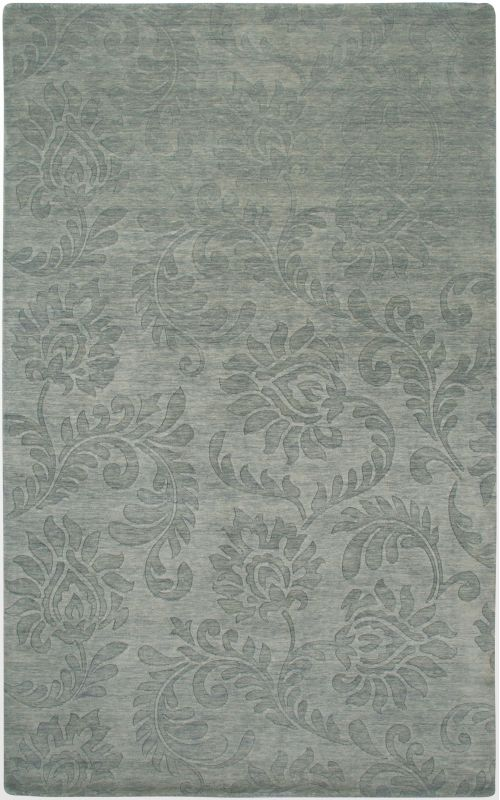 Rizzy Home UP2410 Uptown Hand Loomed New Zealand Wool Rug Gray 5 1/2 x
