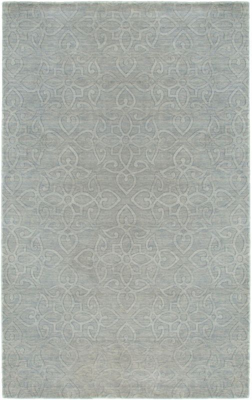 Rizzy Home UP2884 Uptown Hand Loomed New Zealand Wool Rug Light Gray