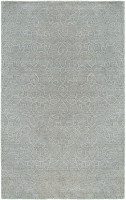 Rizzy Home UP2884 Uptown Hand Loomed New Zealand Wool Rug Light Gray 2