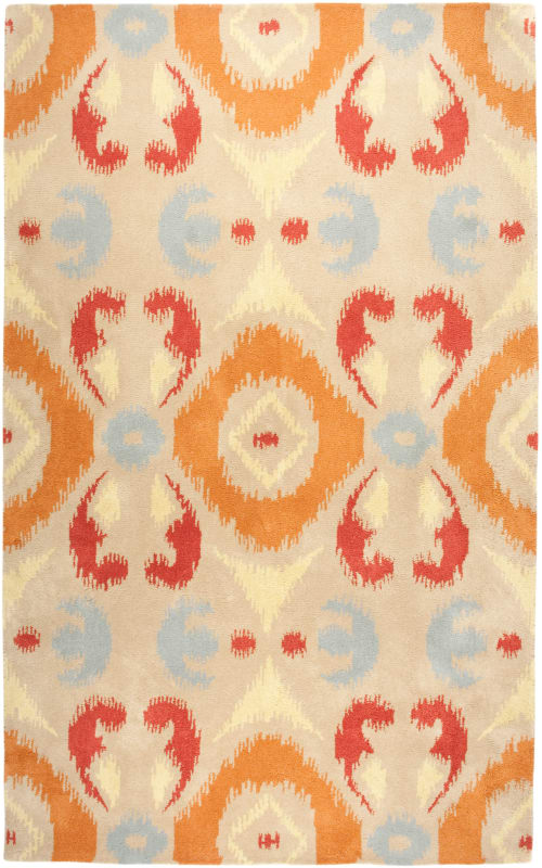 Rizzy Home VO2190 Volare Hand-Tufted Wool Rug Multi 5 x 8 Home Decor