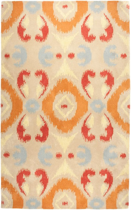 Rizzy Home VO2190 Volare Hand-Tufted Wool Rug Multi 9 x 12 Home Decor