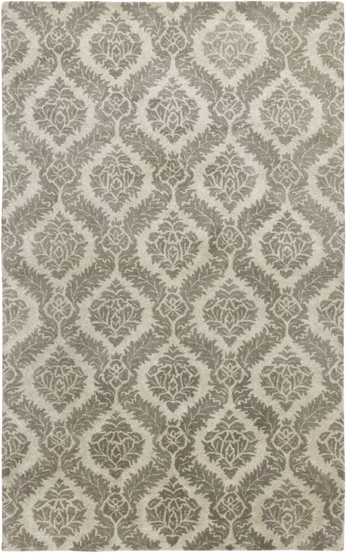 Rizzy Home VO2371 Volare Hand-Tufted Wool Rug Gray 5 x 8 Home Decor