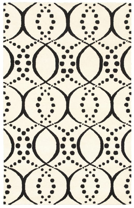 Rizzy Home VO8448 Volare Hand-Tufted Wool Rug White 2 x 3 Home Decor