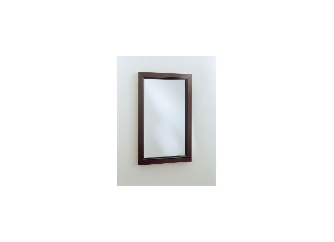 "Robern PLWM24 15-1/4""W X 30""H PL Series Flat Plain Wall Mirror Beaded"