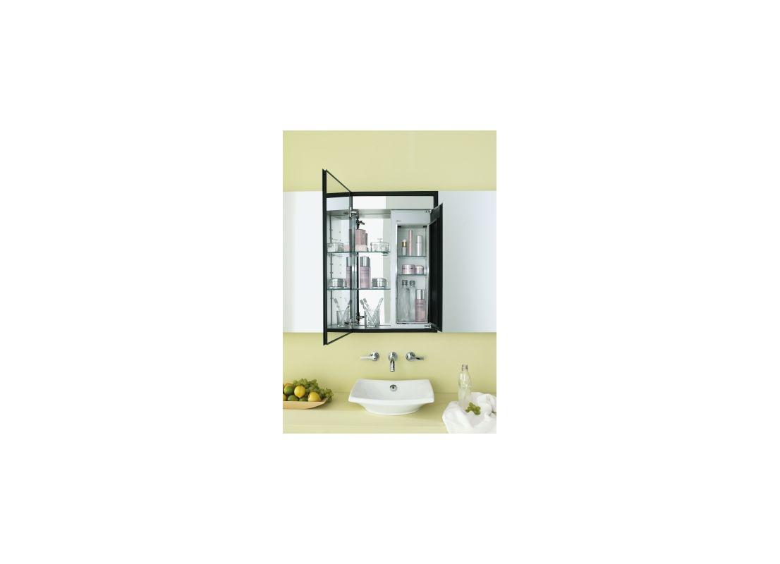 Robern MT20D8FLCS 30 x 19 Single Door Left Handed Cabinet with Flat