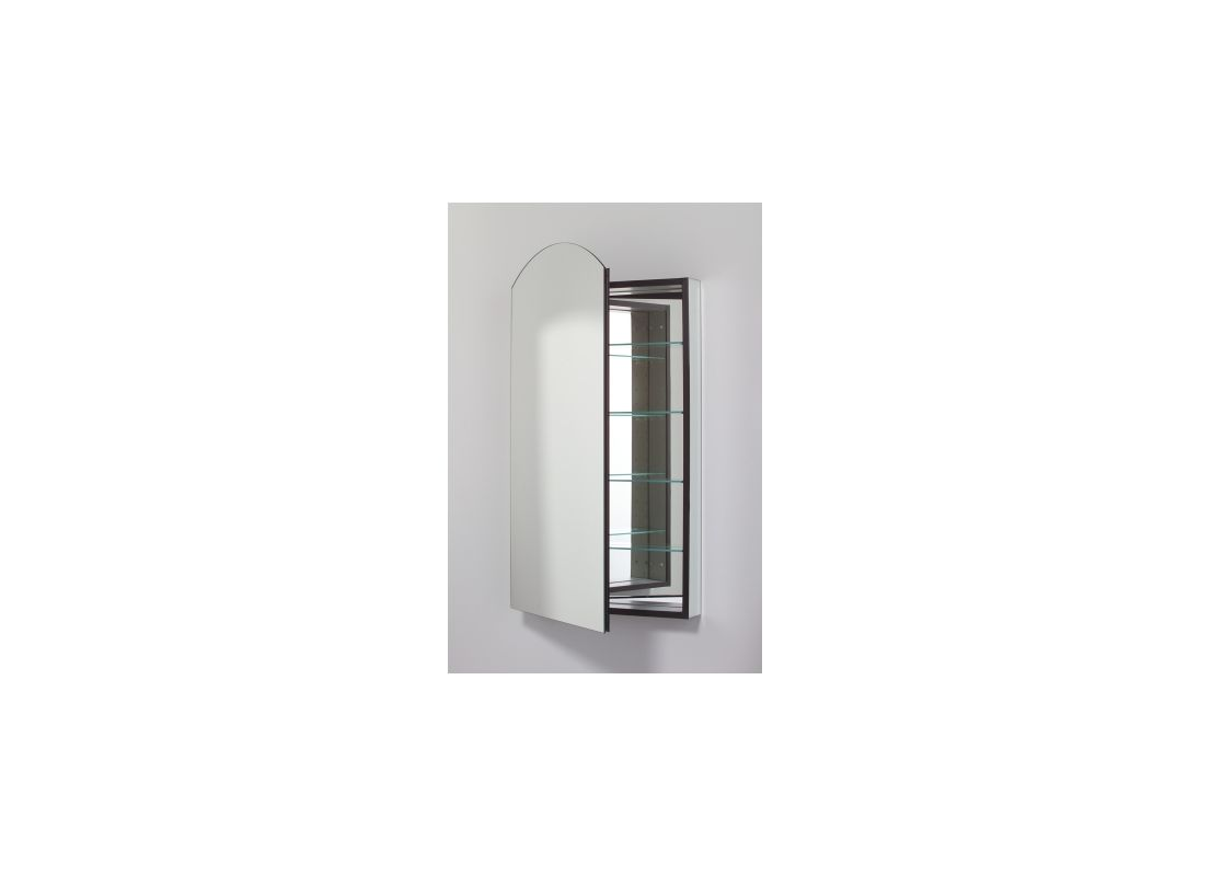 Robern MP24D8ALL 39 x 23 Single Door Left Handed Cabinet with Arched