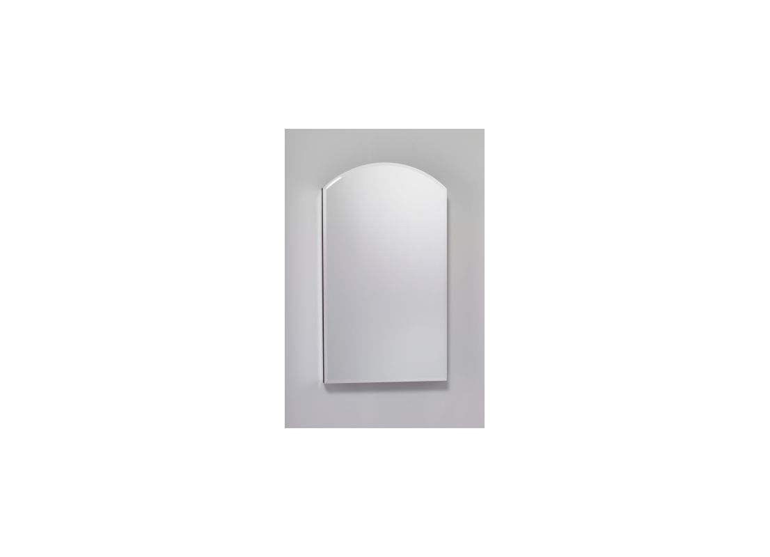 Robern MT20D8ARL 30 x 19 Single Door Right Handed Cabinet with Arched