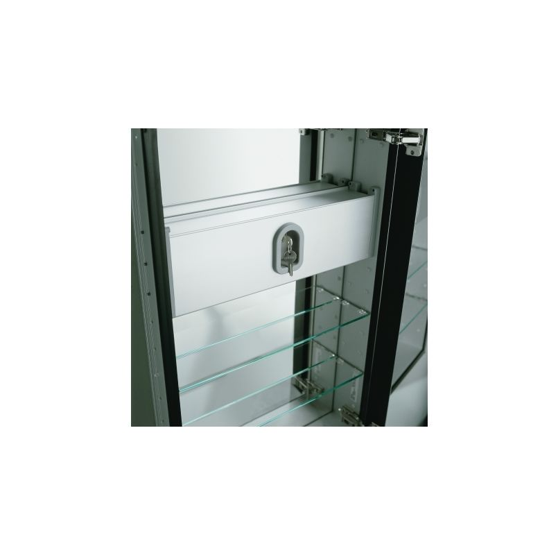 "Robern SLB16D6 16"" x 6"" Safety Lockbox Accessory Lock Boxes"