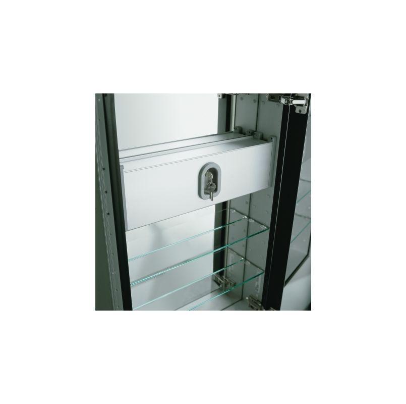 "Robern SLB24D6 24"" x 6"" Safety Lockbox Accessory Lock Boxes"