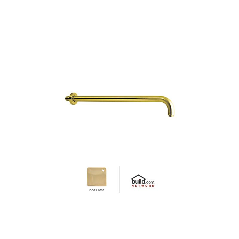 "Rohl 1455/20 Michael Berman 20"" Wall Mounted Shower Arm Inca Brass"