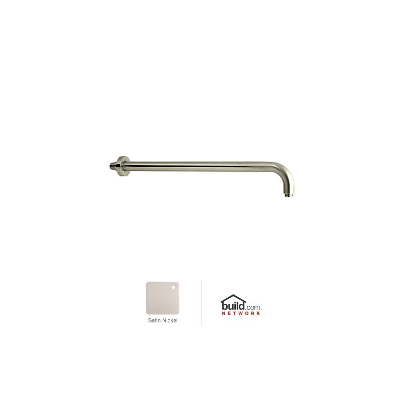 "Rohl 1455/20 Michael Berman 20"" Wall Mounted Shower Arm Satin Nickel Sale $175.50 ITEM: bci33895 ID#:1455/20STN UPC: 824438052338 :"