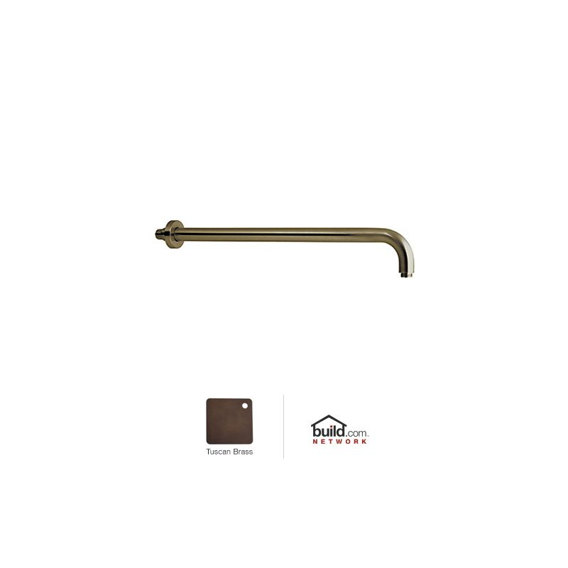 "Rohl 1455/20 Michael Berman 20"" Wall Mounted Shower Arm Tuscan Brass"
