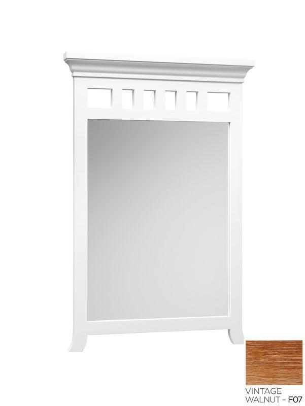 """RonBow 603024 Hampton 24"""" Solid Hardwood Framed Rectangular Bathroom"""