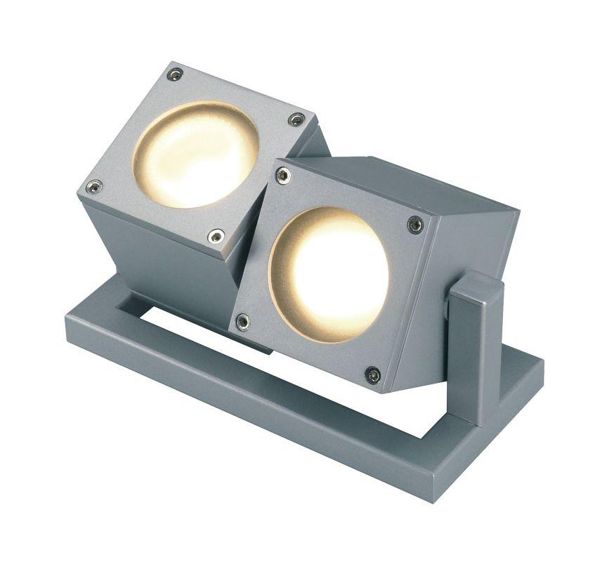 SLV Lighting 2132842U 2 Light Outdoor Dual Head Flood Light from the