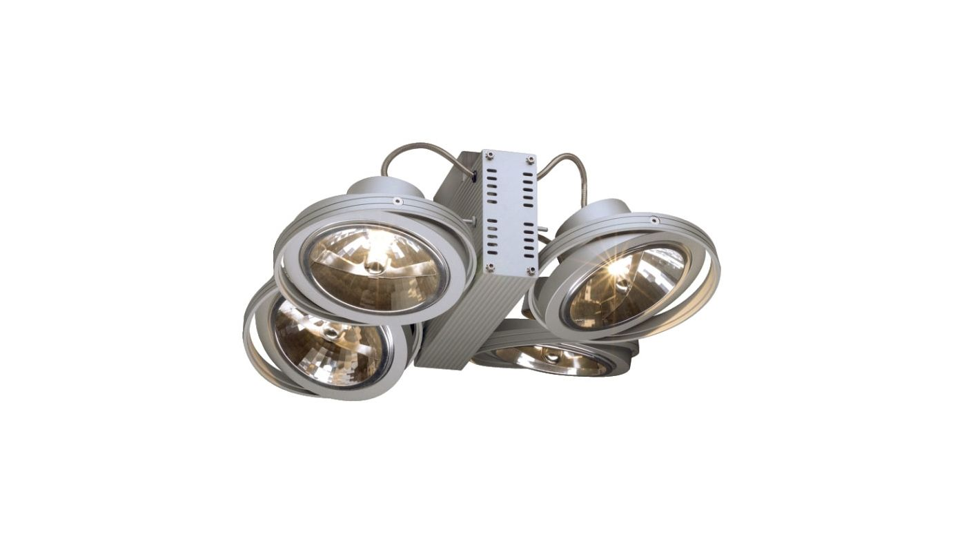 SLV Lighting 7149144U 4 Light Semi-Flush Ceiling Fixture from the Tec