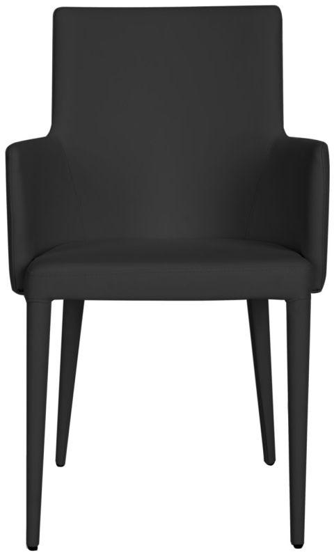 Safavieh FOX2015 Summerset Arm Chair Black Furniture Arm Chairs