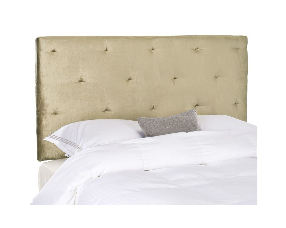 Safavieh Martin Antique Sage Headboard Cotton Blend Headboard in