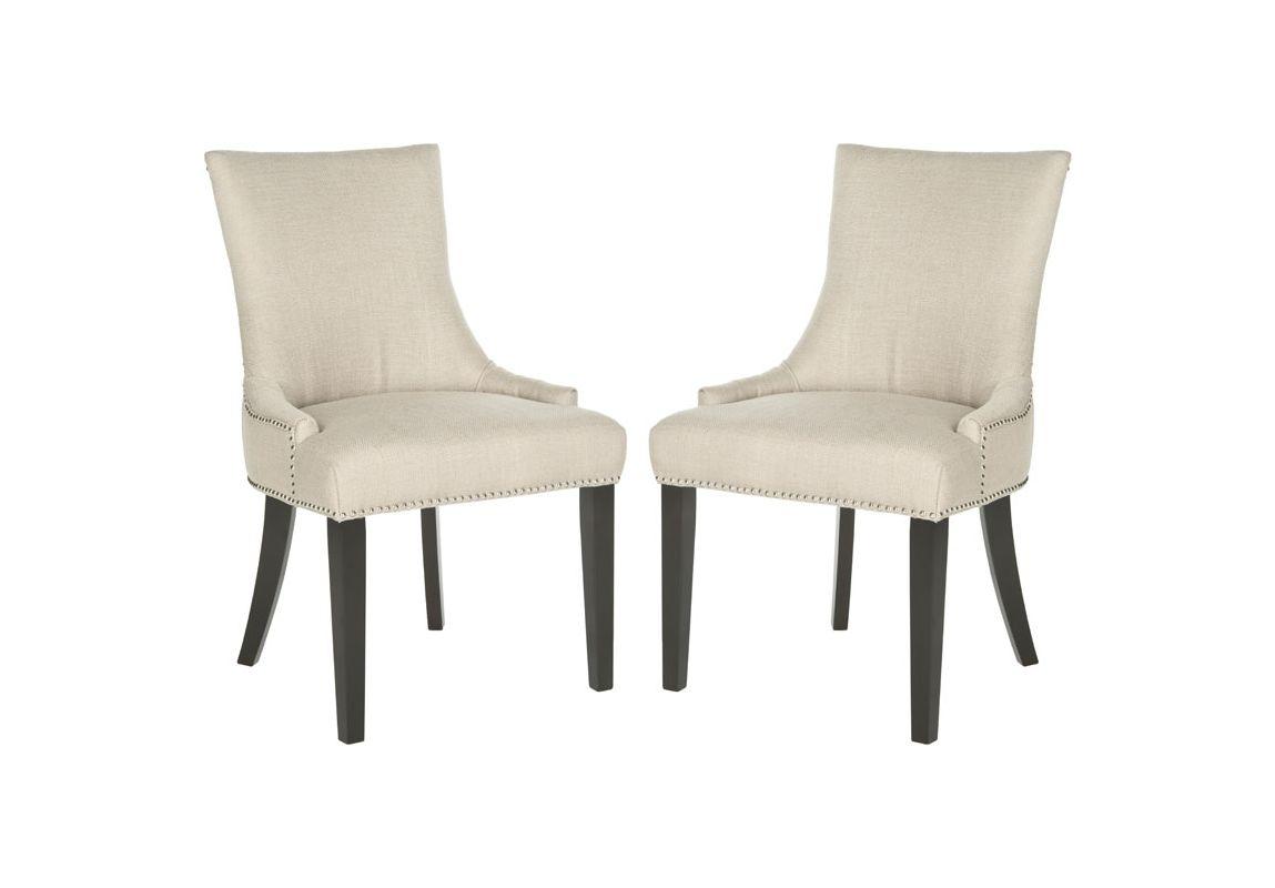 Safavieh MCR4709-SET2 Lester Dining Chair (Set of 2) Antique Gold