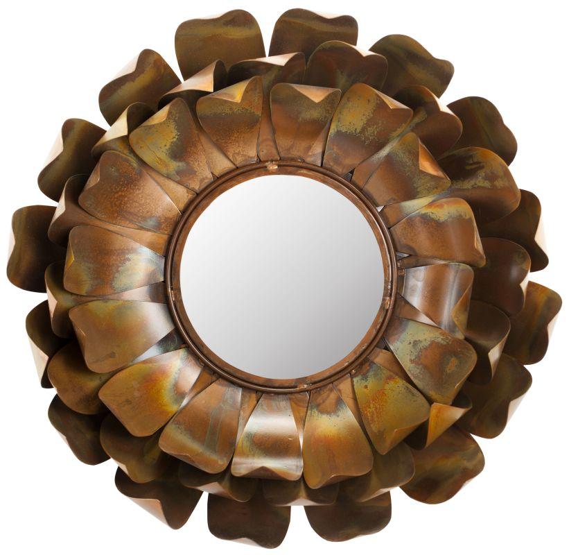 "Safavieh MIR3003 19.3"" Diameter Circular Mirror from the Lotus"
