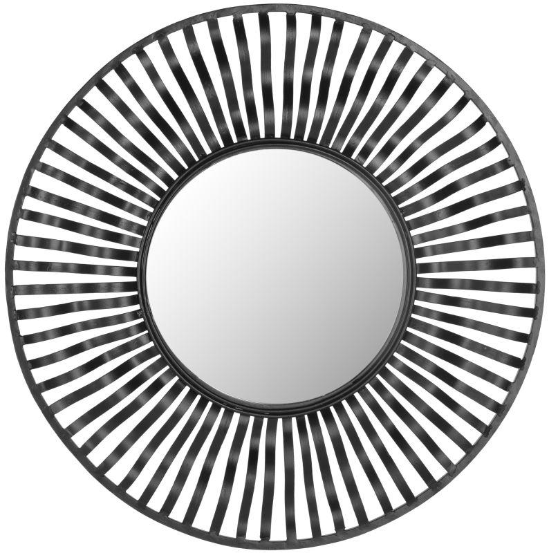 "Safavieh MIR4014 24"" Diameter Circular Mirror from the Swirl diameter"