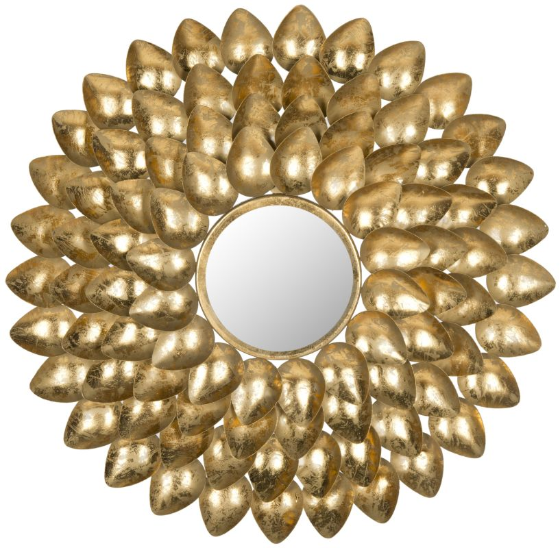 "Safavieh MIR4029 29"" Diameter Circular Mirror from the Woodland"