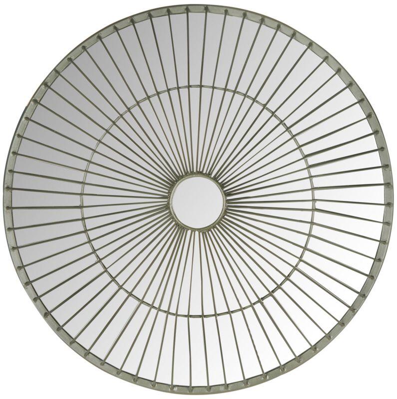 "Safavieh MIR4037 22.5"" Diameter Circular Mirror from the Gemini"