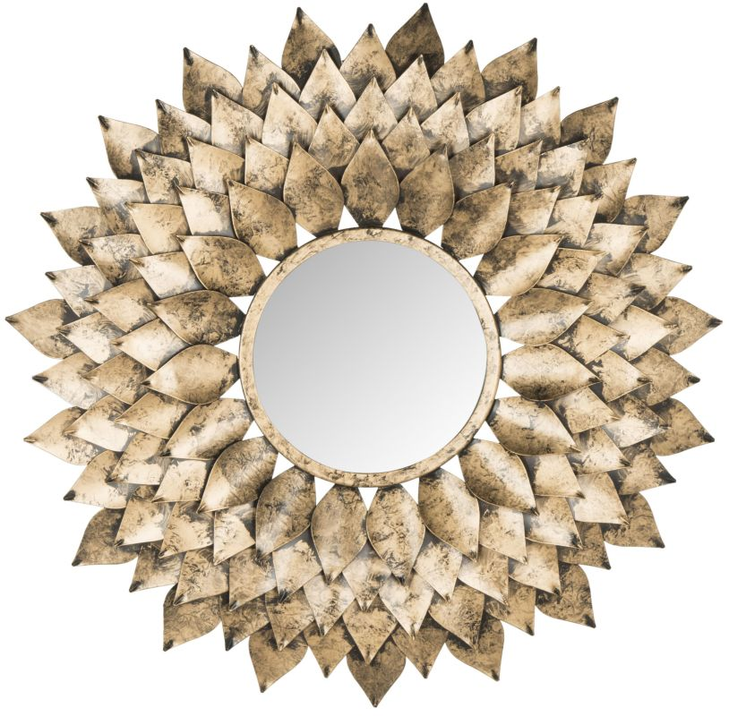 "Safavieh MIR4041 27"" Diameter Circular Mirror from the Provence"