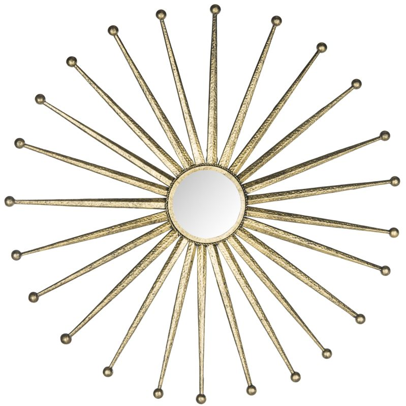 "Safavieh MIR4045 40"" Diameter Circular Mirror from the Capella"