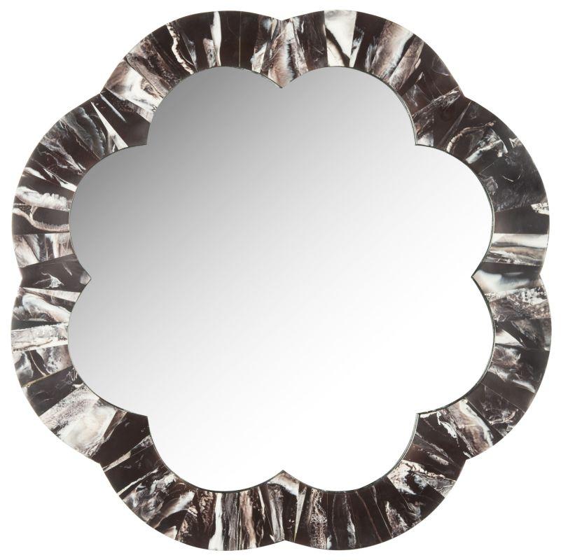 """Safavieh MIR4049 29.5"""" x 29.5"""" Octagonal Mirror from the Fleur Faux"""