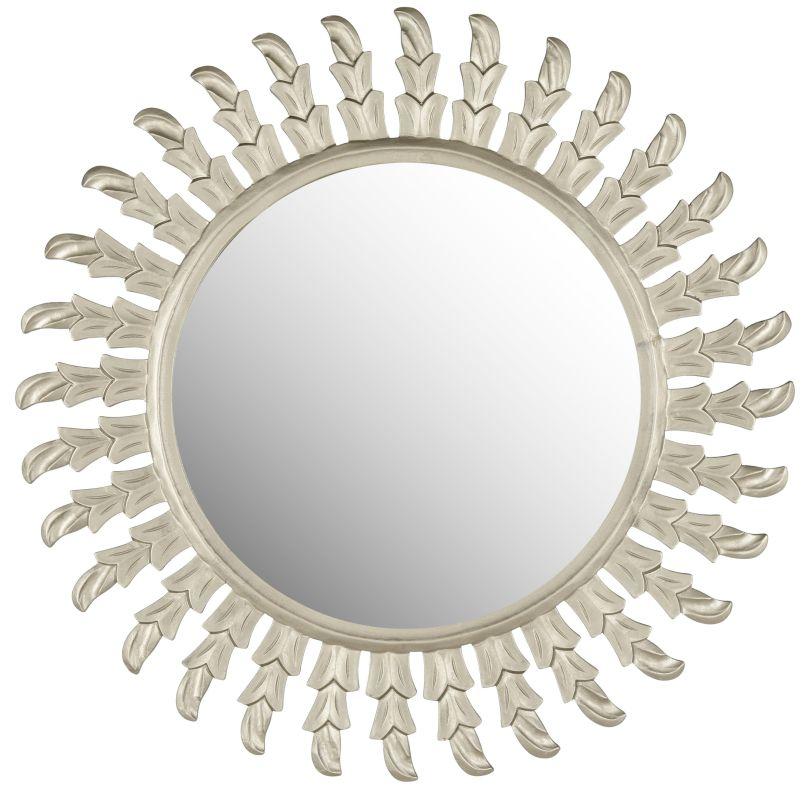 "Safavieh MIR5008 32"" Diameter Circular Mirror from the Inca Sun"