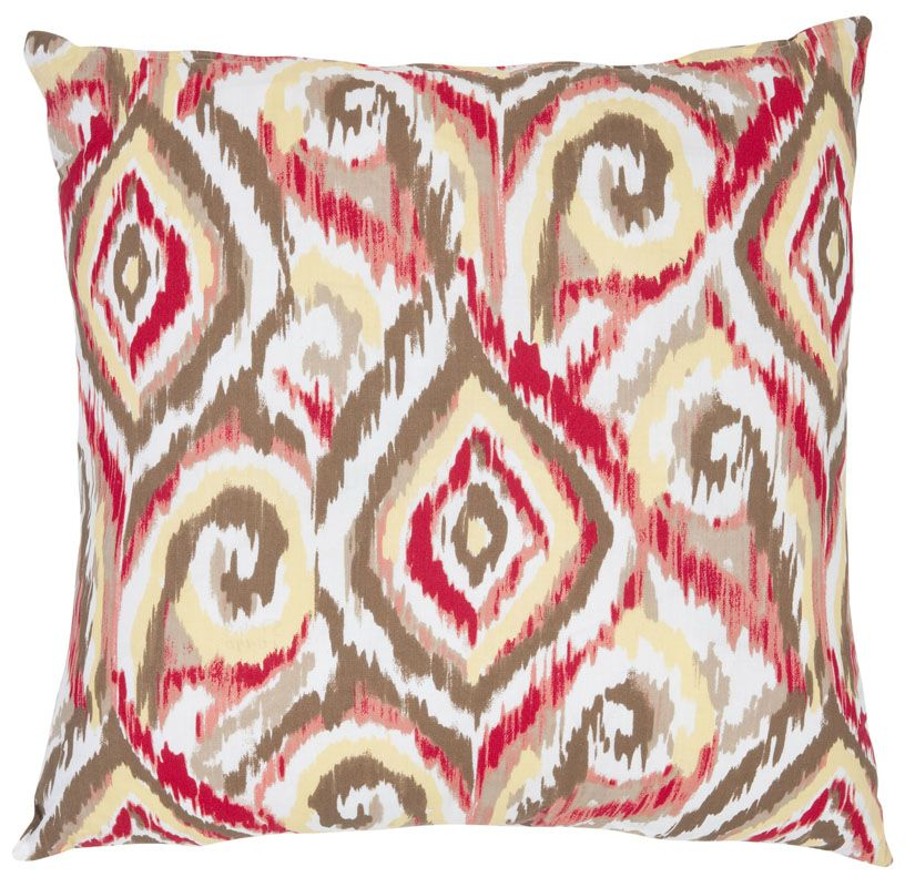 Safavieh PIL410A Square Brown Bardot Pillow from the Bohemian Sale $52.40 ITEM: bci2766099 ID#:PIL410A-1818-SET2 UPC: 683726969846 :