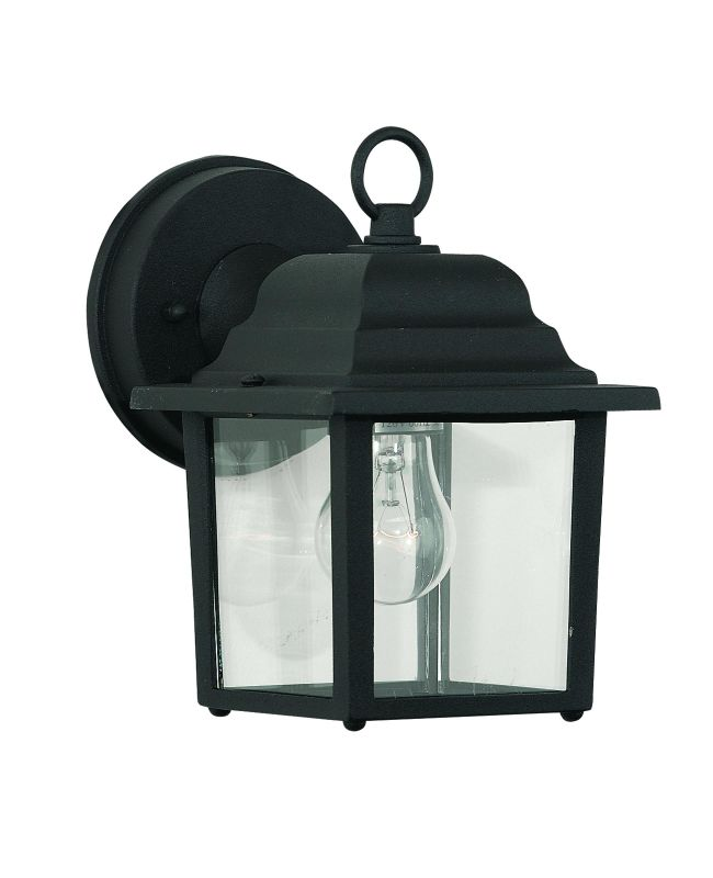 Savoy House 07067 1 Light Outdoor Wall Sconce from the Exterior Sale $40.00 ITEM: bci241414 ID#:07067-BLK UPC: 822920001963 :
