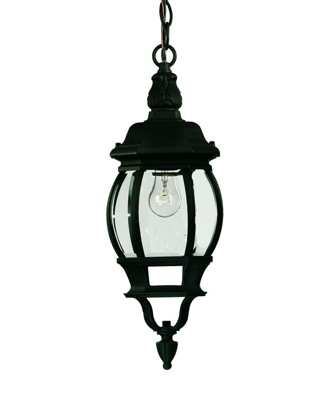 Savoy House 07095 1 Light Outdoor Pendant from the Exterior Collection Sale $104.00 ITEM: bci9808 ID#:07095-BLK UPC: 822920002205 :
