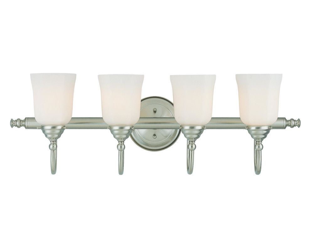 "Savoy House 1062-4 Brunswick Bath 31"" Wide 4 Light Bathroom Vanity"