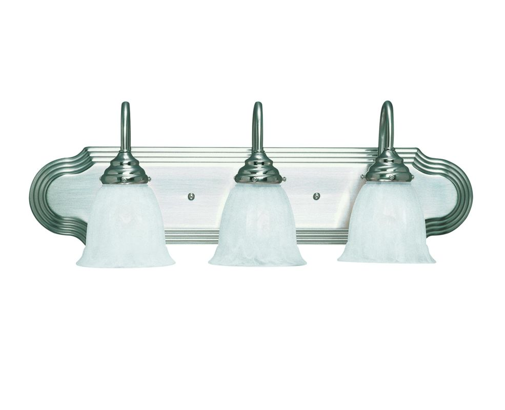 "Savoy House 1079-3 Summergrove Bath 24"" Wide 3 Light Bathroom Vanity"
