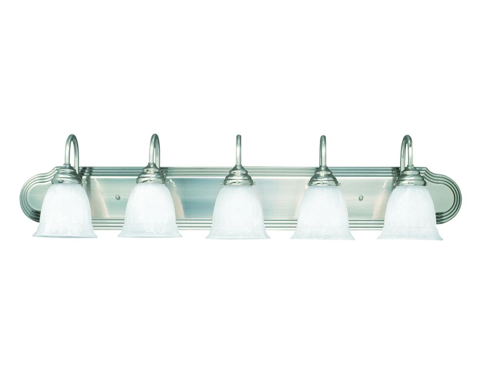 "Savoy House 1079-5 Summergrove Bath 39"" Wide 5 Light Bathroom Vanity"