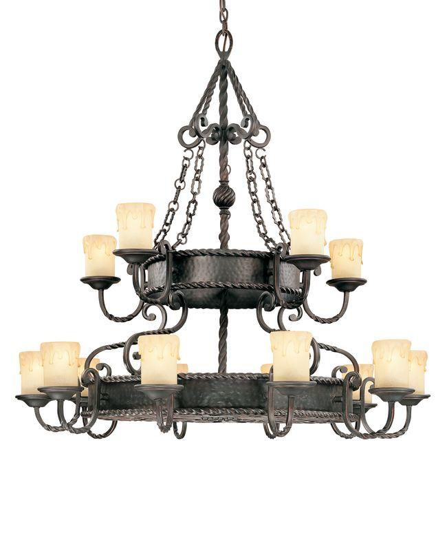 "Savoy House 1-2233-15 San Gallo 15 Light 45"" Wide 2 Tier Chandelier"