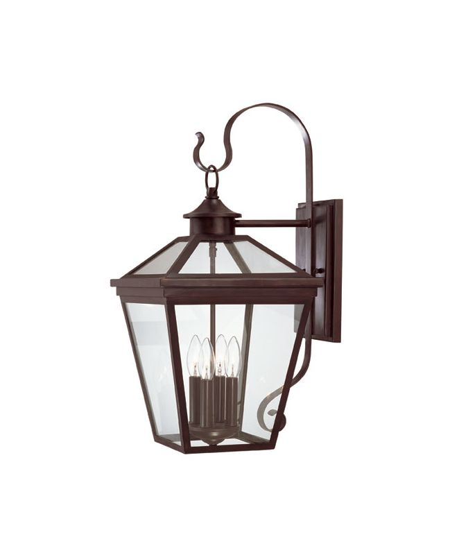 "Savoy House 5-142 Ellijay 4 Light 25.5"" Tall Outdoor Wall Sconce"